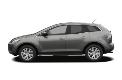 90 Degree Profile 2009 Mazda CX-7