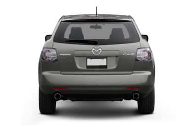 Rear Profile  2009 Mazda CX-7