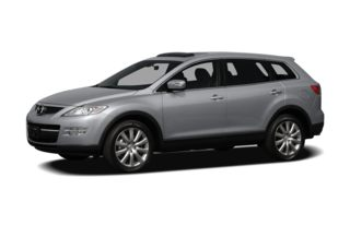 3/4 Front Glamour 2009 Mazda CX-9