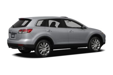 3/4 Rear Glamour  2009 Mazda CX-9