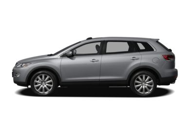 90 Degree Profile 2009 Mazda CX-9