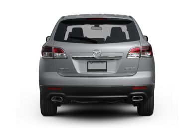 Rear Profile  2009 Mazda CX-9