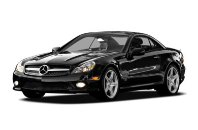 3/4 Front Glamour 2009 Mercedes-Benz SL600