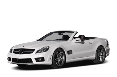 3/4 Front Glamour 2009 Mercedes-Benz SL65 AMG