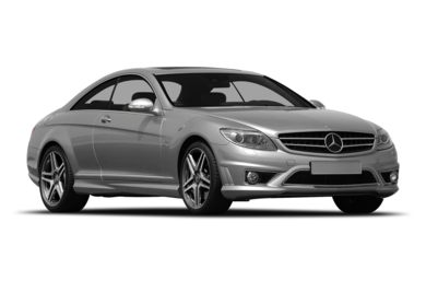 3/4 Front Glamour 2009 Mercedes-Benz CL65 AMG