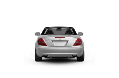 Surround Rear Profile 2009 Mercedes-Benz SLK55 AMG