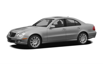 3/4 Front Glamour 2009 Mercedes-Benz E350