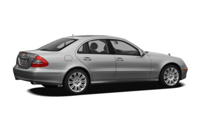 3/4 Rear Glamour  2009 Mercedes-Benz E350