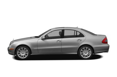 90 Degree Profile 2009 Mercedes-Benz E350