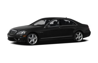 3/4 Front Glamour 2009 Mercedes-Benz S65 AMG
