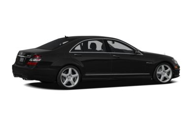 3/4 Rear Glamour  2009 Mercedes-Benz S65 AMG
