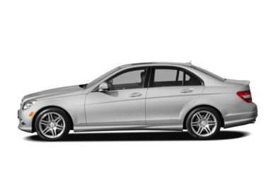 90 Degree Profile 2009 Mercedes-Benz C350