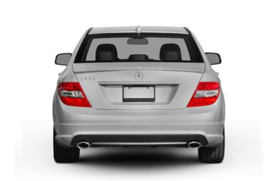 Rear Profile  2009 Mercedes-Benz C350