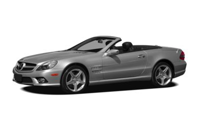 3/4 Front Glamour 2009 Mercedes-Benz SL550