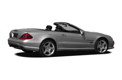 3/4 Rear Glamour  2009 Mercedes-Benz SL550
