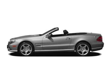 90 Degree Profile 2009 Mercedes-Benz SL550
