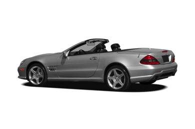 Surround 3/4 Rear - Drivers Side  2009 Mercedes-Benz SL550
