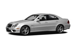 3/4 Front Glamour 2009 Mercedes-Benz E63 AMG