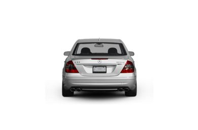 Surround Rear Profile 2009 Mercedes-Benz E63 AMG