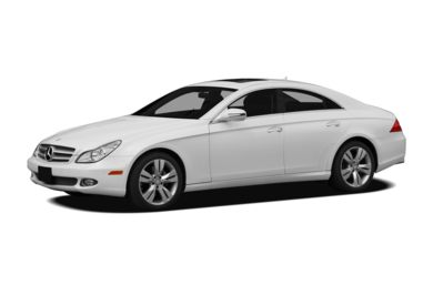 3/4 Front Glamour 2009 Mercedes-Benz CLS550