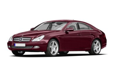 3/4 Front Glamour 2009 Mercedes-Benz CLS63 AMG