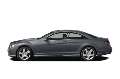 90 Degree Profile 2009 Mercedes-Benz CL550