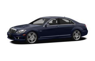 3/4 Front Glamour 2009 Mercedes-Benz S63 AMG