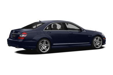 3/4 Rear Glamour  2009 Mercedes-Benz S63 AMG