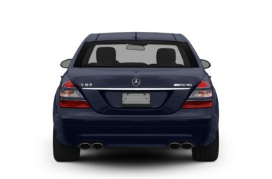 Rear Profile  2009 Mercedes-Benz S63 AMG