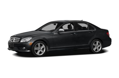 3/4 Front Glamour 2009 Mercedes-Benz C300