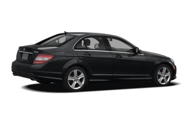 3/4 Rear Glamour  2009 Mercedes-Benz C300