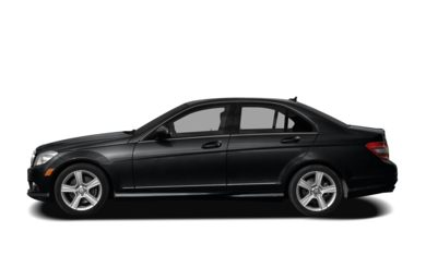 90 Degree Profile 2009 Mercedes-Benz C300