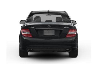 Rear Profile  2009 Mercedes-Benz C300