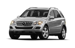 3/4 Front Glamour 2009 Mercedes-Benz ML350