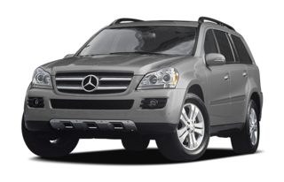 3/4 Front Glamour 2009 Mercedes-Benz GL450
