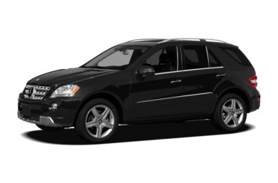 3/4 Front Glamour 2009 Mercedes-Benz ML550