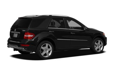 3/4 Rear Glamour  2009 Mercedes-Benz ML550