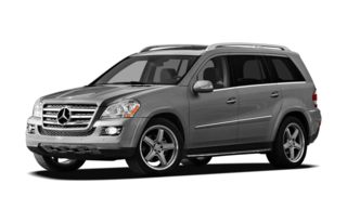 3/4 Front Glamour 2009 Mercedes-Benz GL550