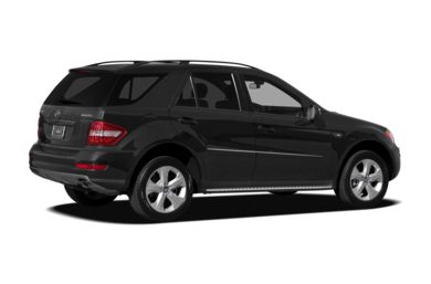 3/4 Rear Glamour  2009 Mercedes-Benz ML320 BlueTEC