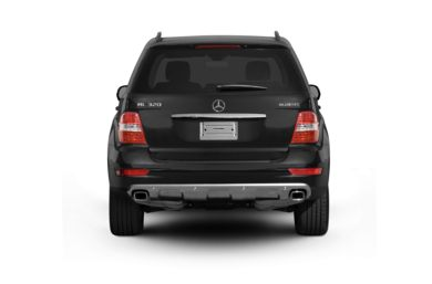Rear Profile  2009 Mercedes-Benz ML320 BlueTEC