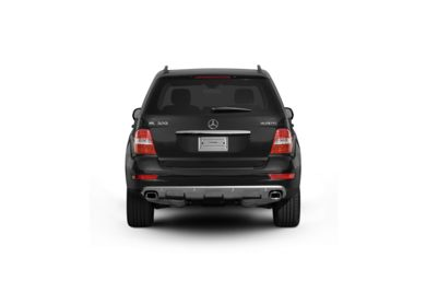 Surround Rear Profile 2009 Mercedes-Benz ML320 BlueTEC