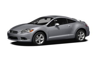 3/4 Front Glamour 2009 Mitsubishi Eclipse