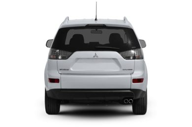 Rear Profile  2009 Mitsubishi Outlander