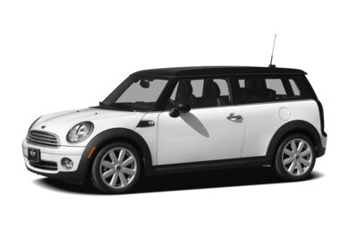3/4 Front Glamour 2009 MINI Clubman