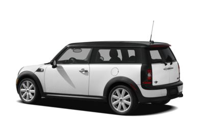 Surround 3/4 Rear - Drivers Side  2009 MINI Clubman