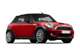 3/4 Front Glamour 2009 MINI Convertible