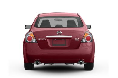 Rear Profile  2009 Nissan Altima