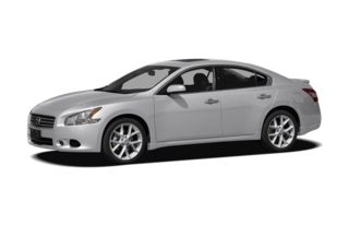 3/4 Front Glamour 2009 Nissan Maxima