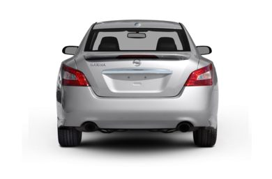 Rear Profile  2009 Nissan Maxima