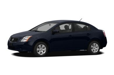3/4 Front Glamour 2009 Nissan Sentra
